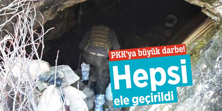 PKK'ya büyük darbe! Hepsi ele geçirildi