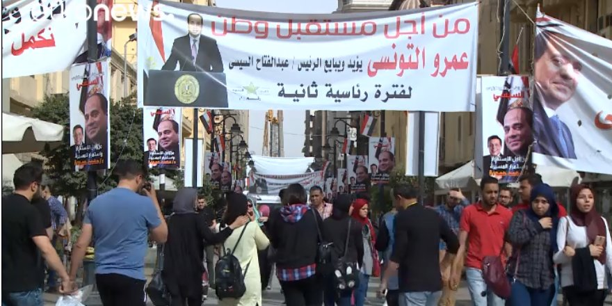 Mısır'da cumhurbaşkanlığı seçimi için iki aday ön planda