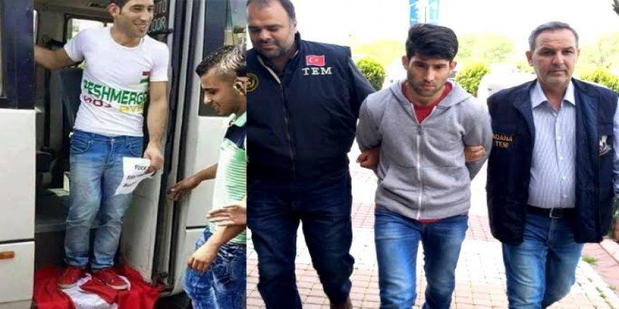 Türk bayrağına basıp poz vermişti! O PKK'lı özür diledi