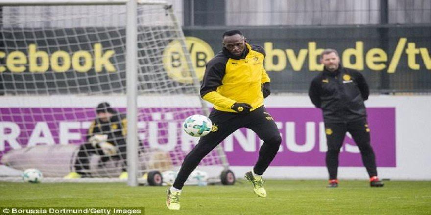 Dünya rekortmeni Bundesliga'ya transfer oldu!Usain Bolt, Dortmund'da