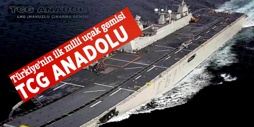 Türkiye'nin ilk milli uçak gemisiTCG Anadolu