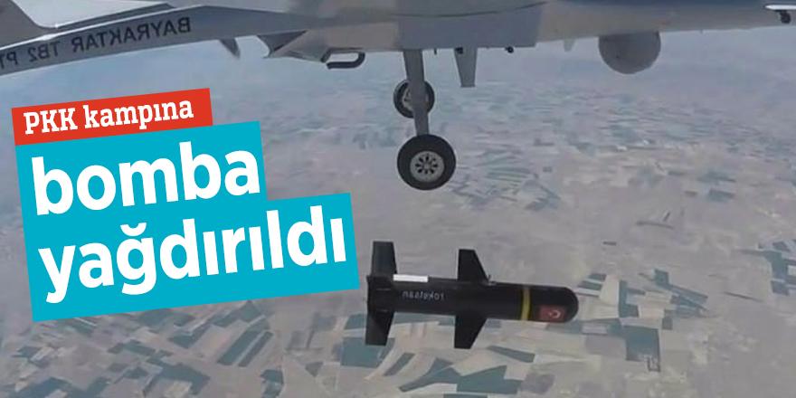 PKK kampına bomba yağdırıldı