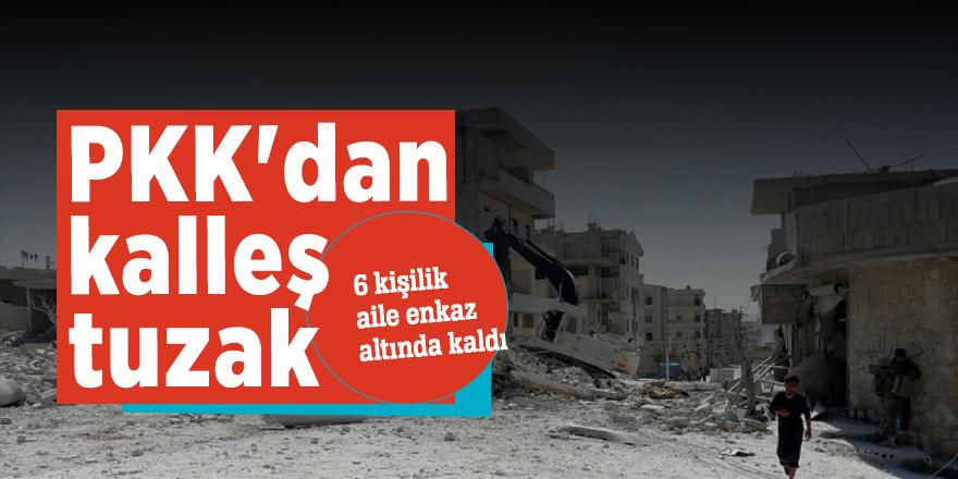PKK'dan alçak tuzak