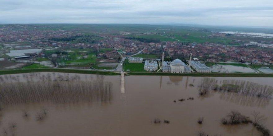 Edirne'de taşkın alarmı