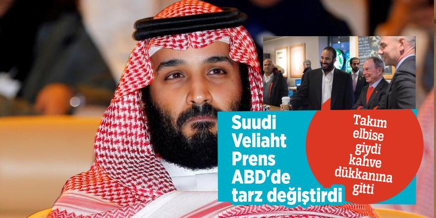 Suudi Veliaht Prens ABD'de tarz değiştirdi!