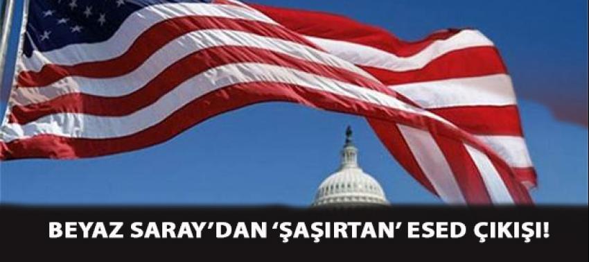 Beyaz Saray'dan 'şaşırtan' Esed çıkışı!