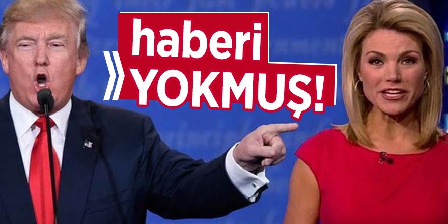 Nauert'tenın Trump'ın açıklamasından haberi yokmuş!