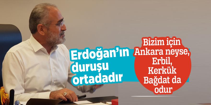 Yalçın Topçu: Bizim için Ankara neyse, Erbil, Kerkük Bağdat da odur