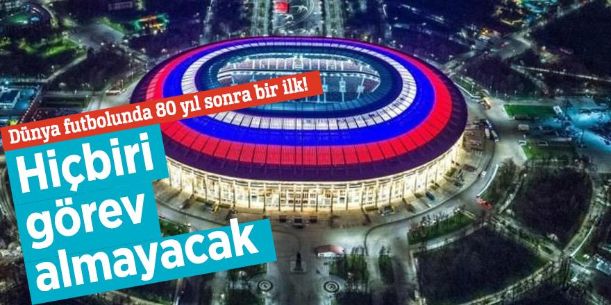 Dünya futbolunda 80 yıl sonra bir ilk! Hiçbiri görev almayacak