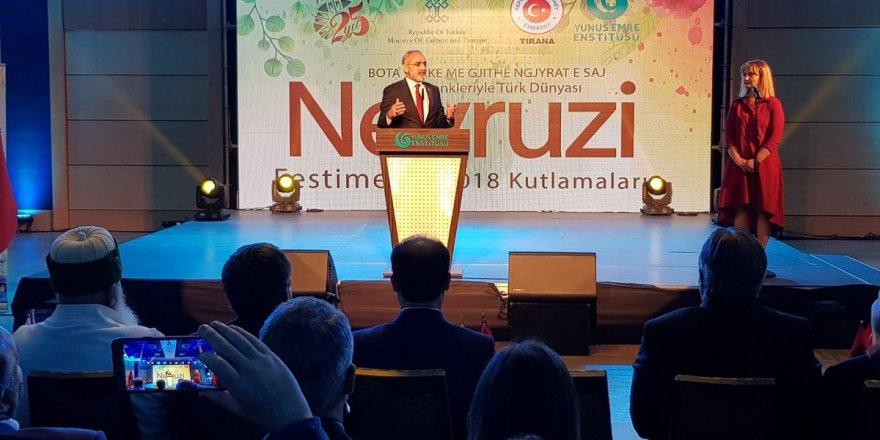 Cumhurbaşkanı Başdanışmanı Yalçın Topçu'dan Arnavutluk'ta kritik temaslar!