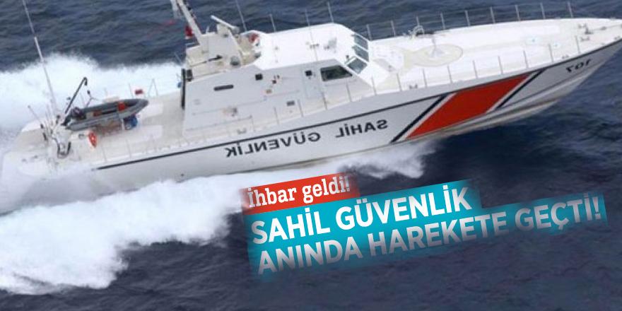 Fethiye açıklarında 'tekne battı' ihbarı geldi! Sahil Güvenlik anında harekete geçti