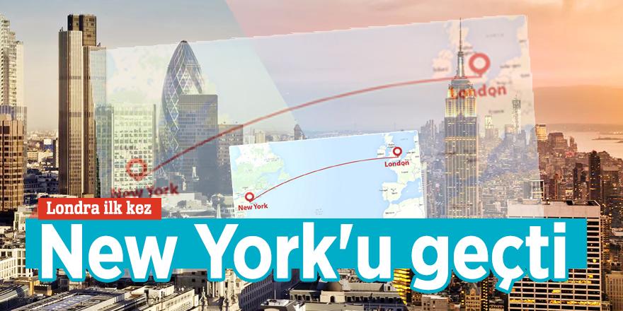 Londra'da cinayet oranı ilk kez New York'u geçti