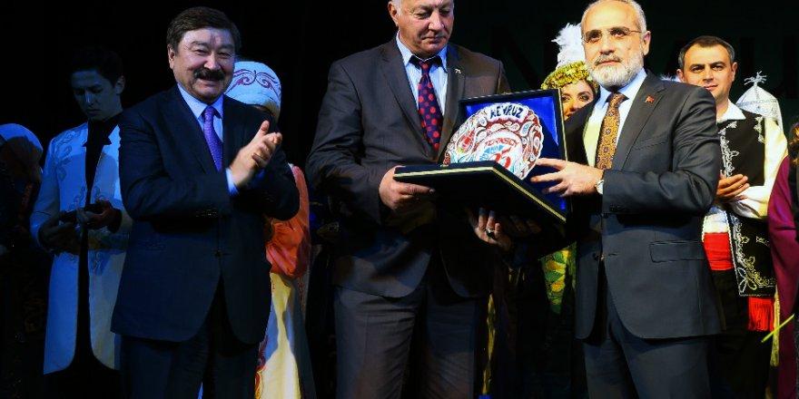 Cumhurbaşkanı Başdanışmanı Yalçın Topçu Başbuğ Türkeş ve ülkü şehitlerini yad etti!