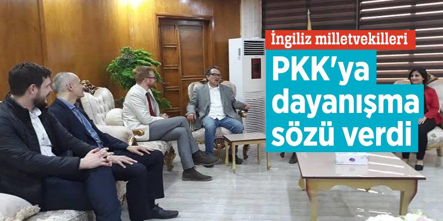 İngiliz milletvekilleri PKK'ya dayanışma sözü verdi