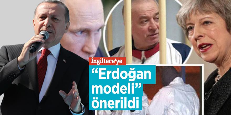 """İngiltere'ye """"Erdoğan modeli"""" önerildi"""