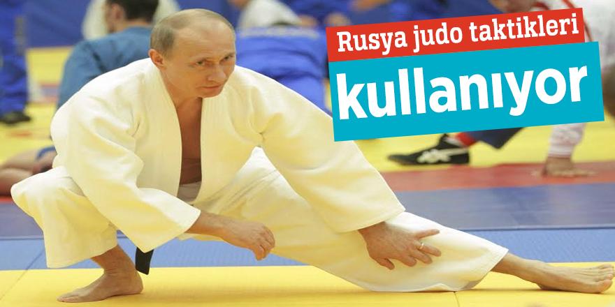 Rusya judo taktikleri kullanıyor