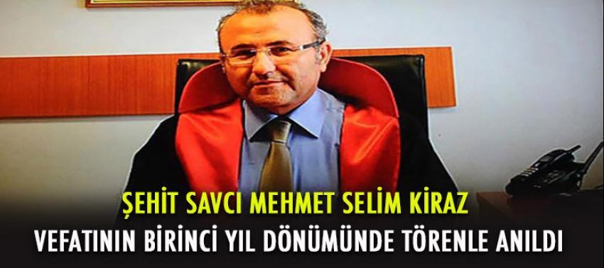 Şehit Savcı Mehmet Selim Kiraz için adliyede anma töreni