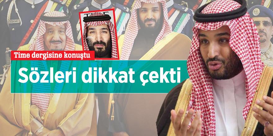 Veliaht Prens Time dergisine konuştu: Sözleri dikkat çekti