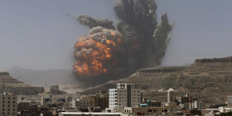 Suudi Arabistan jetleri sivilleri vurdu: 13 ölü