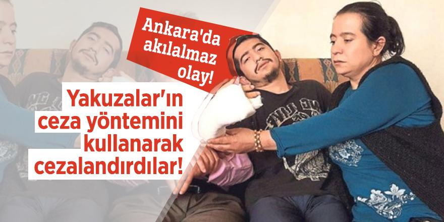 Ankara'nın göbeğinde akılalmaz olay!