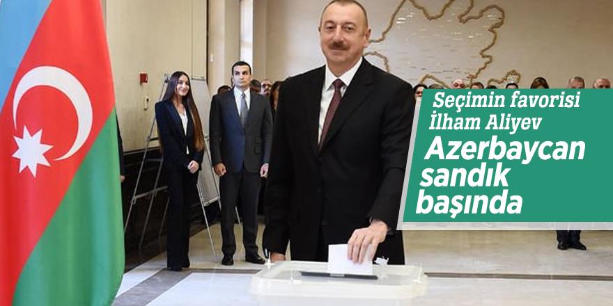 Seçimin favorisi İlham Aliyev!  Azerbaycan sandık başında