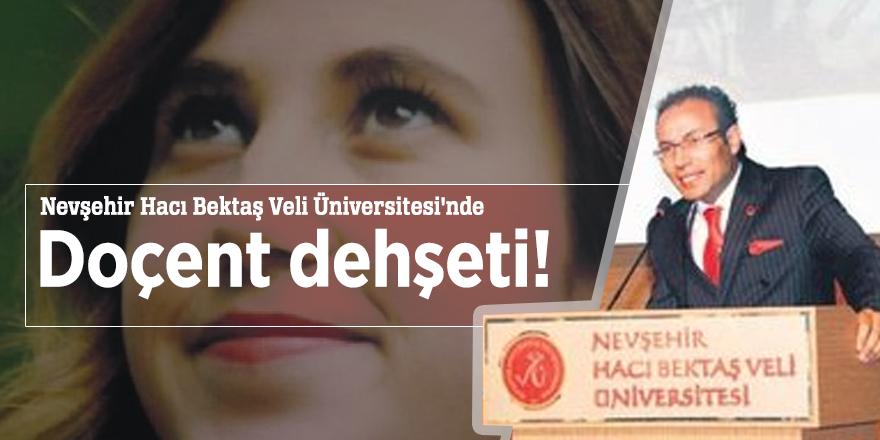Nevşehir Hacı Bektaş Veli Üniversitesi'nde Doçent dehşeti!