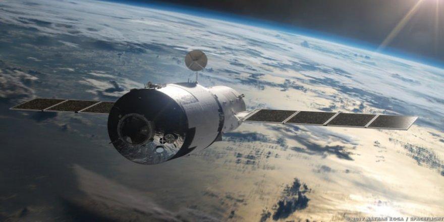 Çin'in uzay istasyonu düştü
