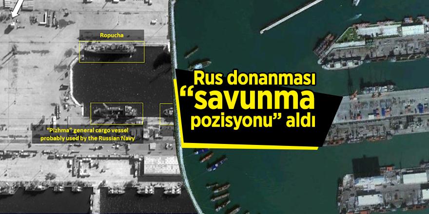 """Rus donanması """"savunma pozisyonu"""" aldı"""