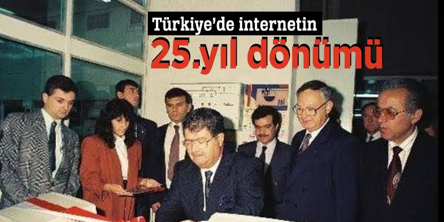 Türkiye'de internetin 25.yıl dönümü