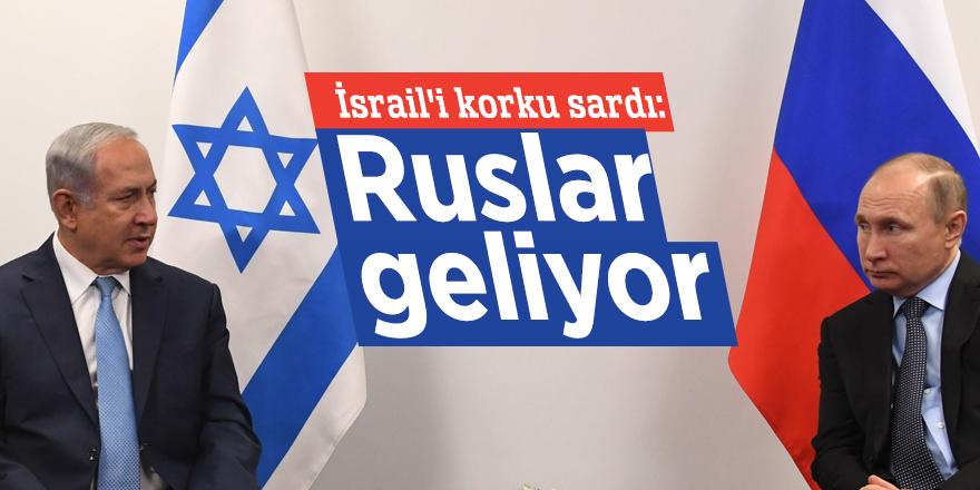 İsrail'i korku sardı: Ruslar geliyor