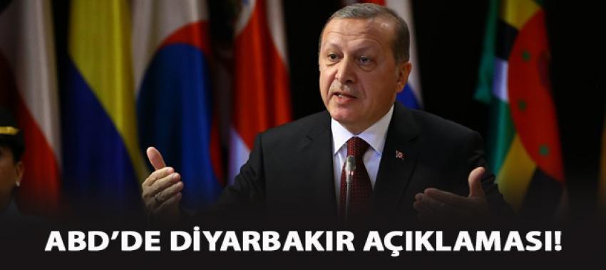 Cumhurbaşkanı Erdoğan'dan ABD'de kritik açıklamalar!