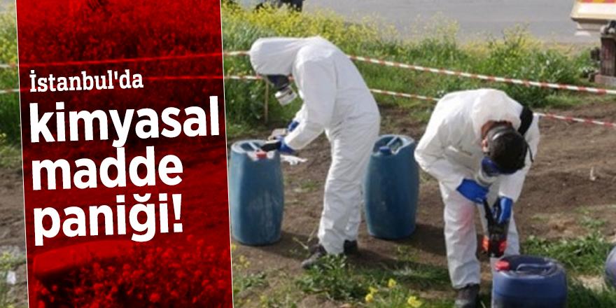 İstanbul'da kimyasal madde paniği!
