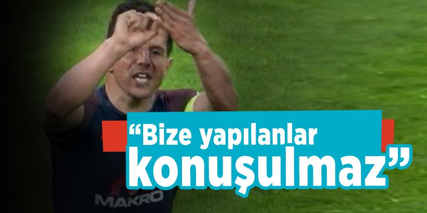 """Emre Belözoğlu """"Bize yapılanlar konuşulmaz"""""""