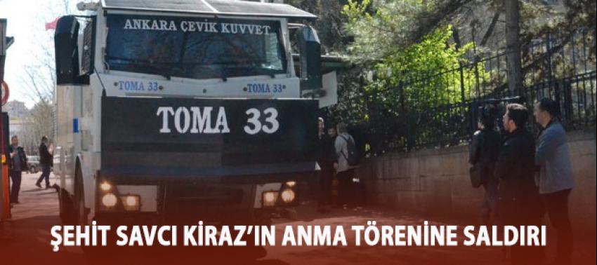 Merhum Şehit Savcı Kiraz'ın anma törenine saldırı!