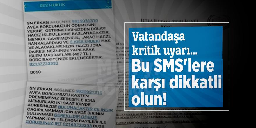 Vatandaşa kritik uyarı... Bu SMS'lere karşı dikkatli olun!