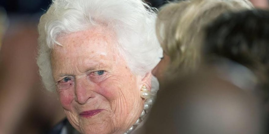 ABD'nin eski first lady'si Barbara Bush 92 yaşında hayatını kaybetti...