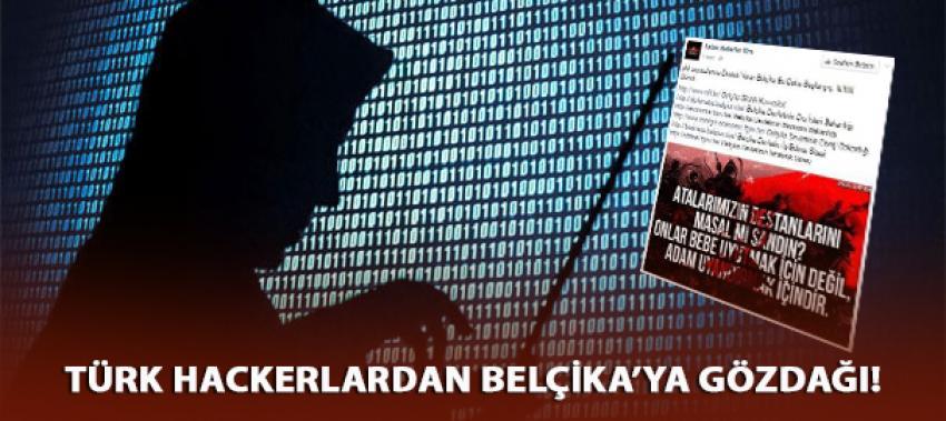Türk Hackerlar Belçika devlet sitelerini hackledi