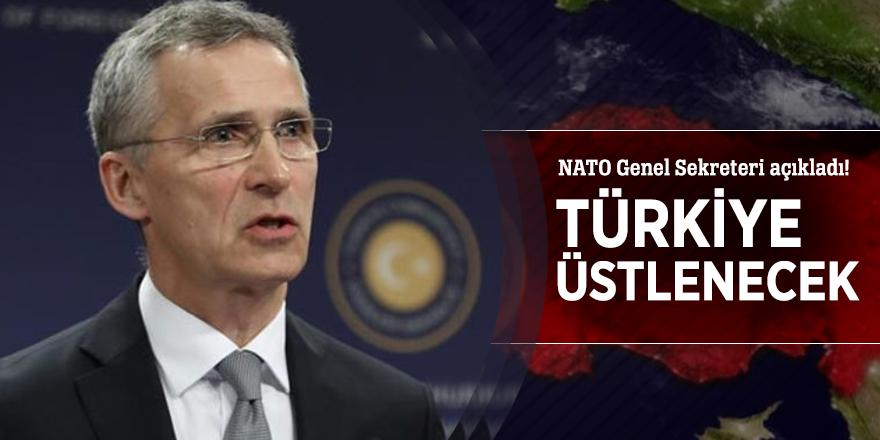 NATO Genel Sekreteri açıkladı! Türkiye üstlenecek