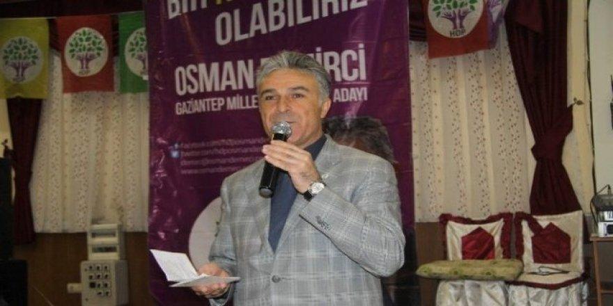 HDP'nin adayı PKK'dan tutuklandı!