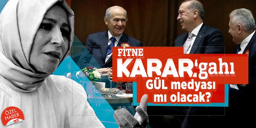 İttifak'ı hedef alan FİTNE 'KARAR'gahı GÜL medyası mı olacak?