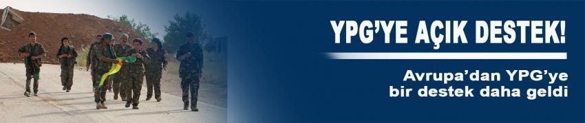 Bir ülke daha YPG'ye açık destek verdi!