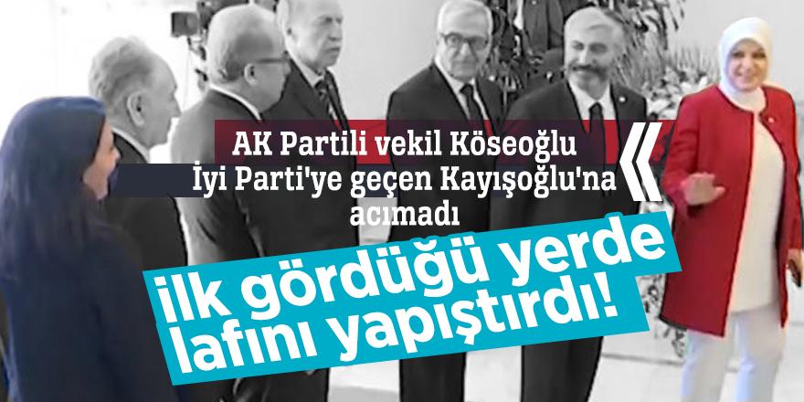 AK Partili vekil Köseoğlu İyi Parti'ye geçen Kayışoğlu'na acımadı! Lafını yapıştırdı