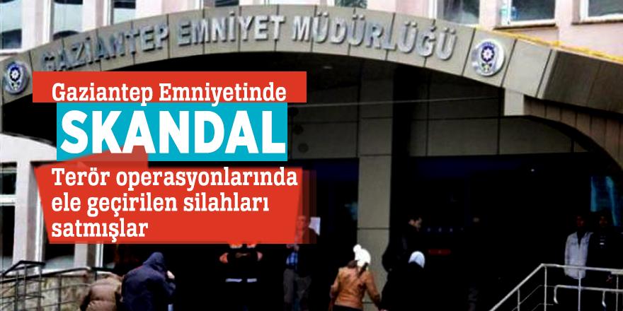 Gaziantep Emniyetinde SKANDAL: Terör operasyonlarında ele geçirilen silahları satmışlar