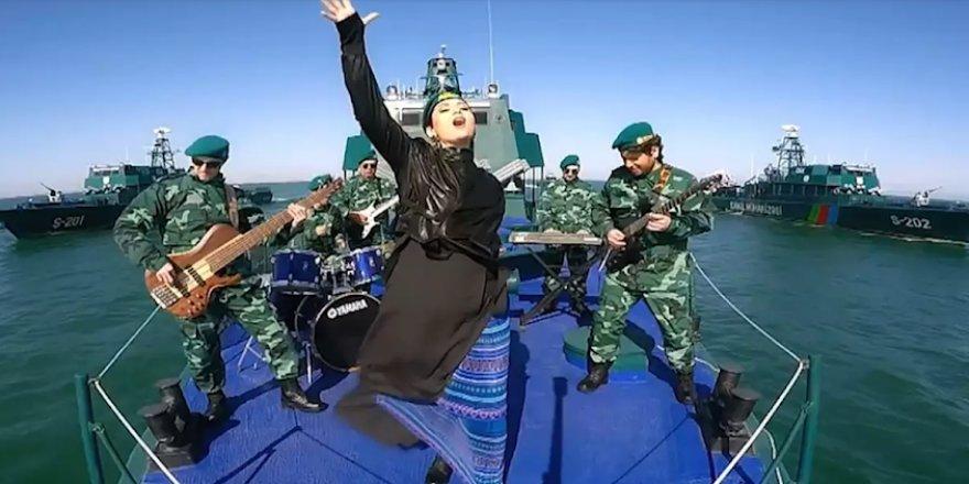 Azerbaycan'ın gizli silahı klipte ortaya çıktı
