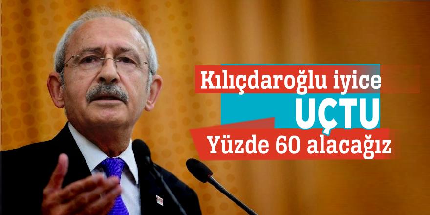 Kılıçdaroğlu iyice uçtu: Yüzde 60 alacağız