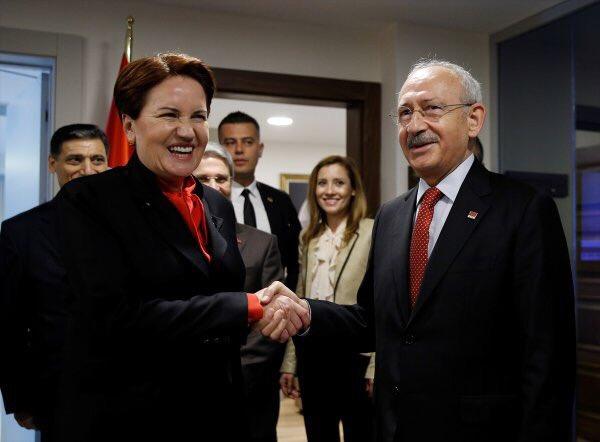 CHP ile asla ittifak yapmam diyen Akşener yarın Kılıçdaroğlu ile görüşecek
