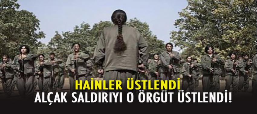 Diyarbakır'daki kanlı saldırıyı üstlenen örgüt!