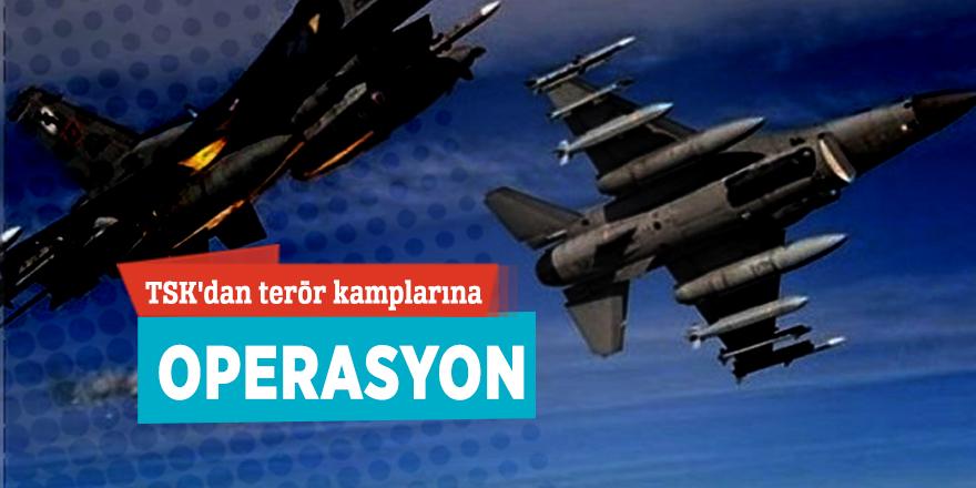 TSK'dan terör kamplarına operasyon