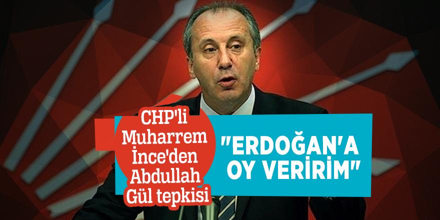 """Erdoğan'a oy veririm"""
