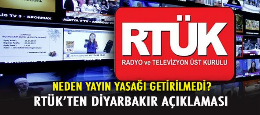 RTÜK'ten 'yayın yasağı' açıklaması